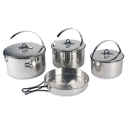 Набор посуды Tatonka FAMILY COOKSET L - фото магазина 4adventure.ru